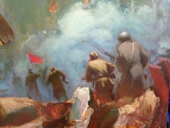 """To storm the Reichstag""-Sorokin Nikolai Vasilyevich"