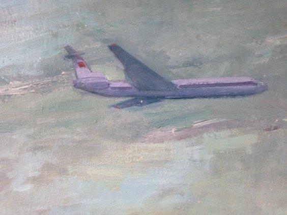 """""""Aircraft on the Motherland""""-Soroka Arkady Vasilyevich"""
