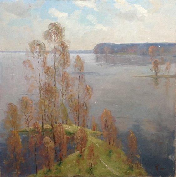 """""""On the Donets"""" 1981 - Butenko Nikon Vasilyevich"""
