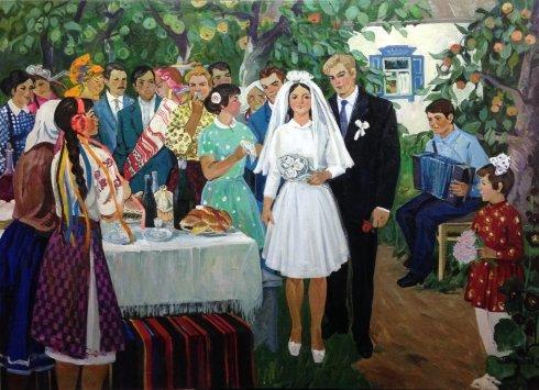 «Комсомольская свадьба» 1973 - Титова Ольга Геннадьевна