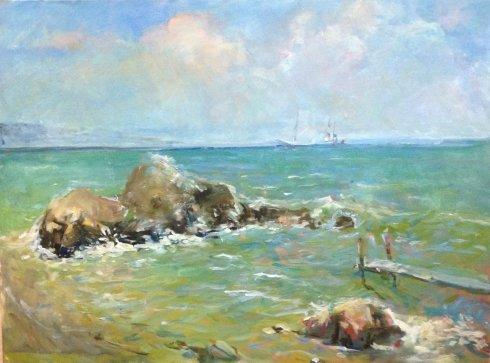 """""""Wharf"""" 1980 е - Bessaraba Leonid Pavlovich"""