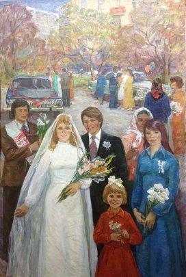 «Невеста» 1970 е - Лельчук-Минская Марина Григорьевна