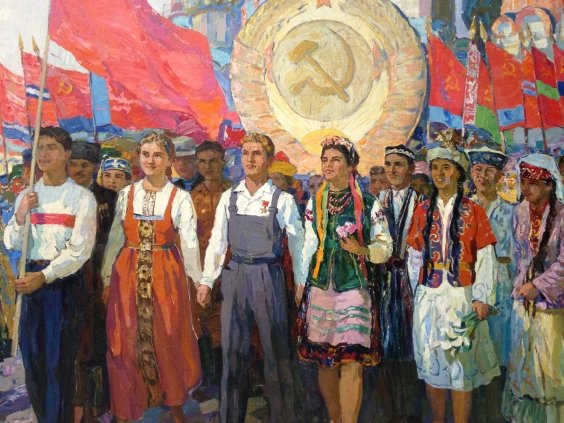"""May the indestructible friendship of the peoples of the USSR be good!""-Bernadsky Valentin Danilovich"