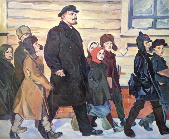 """""""To a new school"""" 1963-1965  - Tokarev Vyacheslav Vasilyevich"""