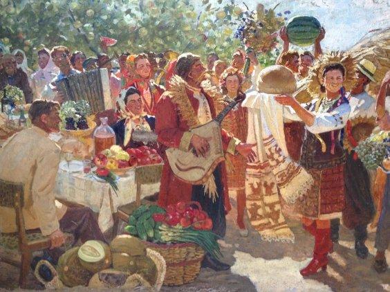 «Праздник Урожая»-Гончаров Григорий Андреевич