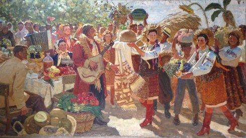 """Harvest Festival"" 1969 - Goncharov Andrey Dmitrievich"