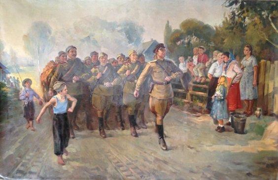 «Солдатская песня» 1950 е - «Солдатская песня»