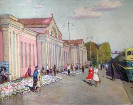 """New roads: the first Electric locomotive TE-2""-Gavdzinsky Albin Stanislavovich"