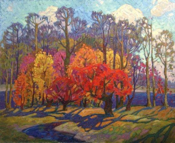 """""""Gold of Autumn"""" 1970 е - Danchenko Boris Borisovich"""
