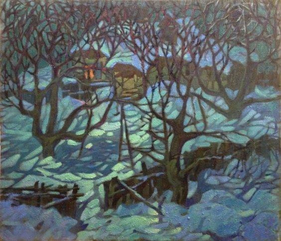 """""""Moon lace"""" 1970 е - Danchenko Boris Borisovich"""