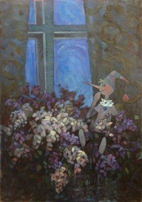 """""""Nighttime Tale"""" 1970 е - Danchenko Boris Borisovich"""