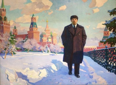 """In the Kremlin"" 1967 - Vovk Alexander Ivanovich"