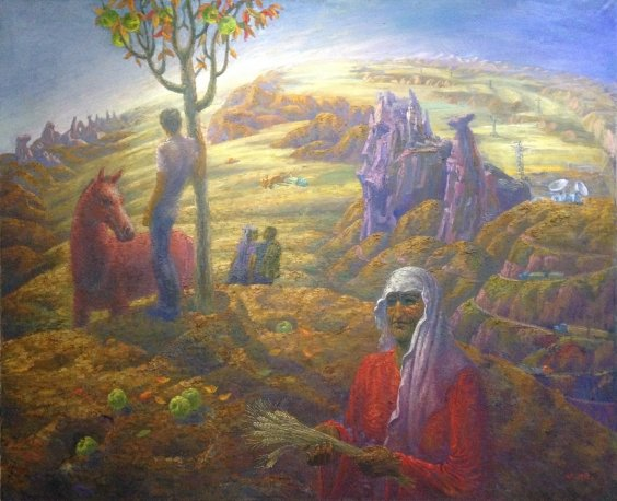 """Horizons of Tselin"" 1982 - Sharipov Sabzali Nigmatovich"