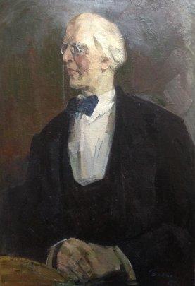 """Portrait Stanislavsky KS"" 1972 - Belov Victor Emelyanovich"