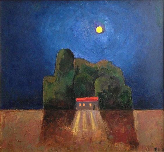 """""""Quiet Ukrainian night"""" 2010 - Razinkina Olga Nikolaevna"""
