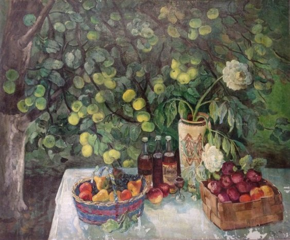 """In the garden""-Zorya Galina Denisovna"