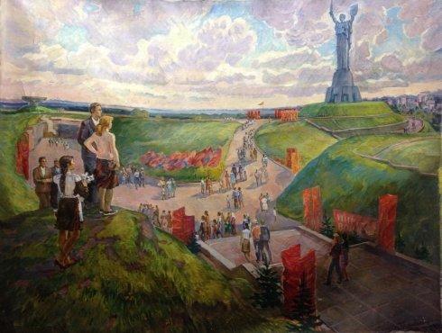 """""""9th May"""" 1983 - Goncharenko Valentina Yakovlevna"""