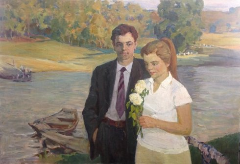 """Confession"" 1970 е - Likholet Alexey Kirillovich"