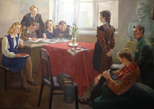 """Admission to the Komsomol"" Start 1950 х - ""Admission to the Komsomol"""