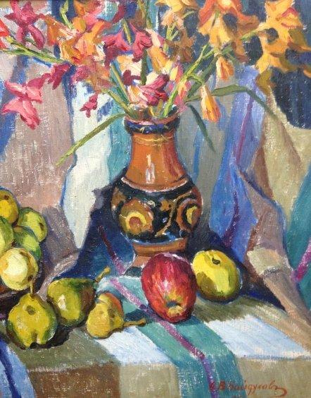 «Цветы и фрукты»-Байдуков Александр Васильевич