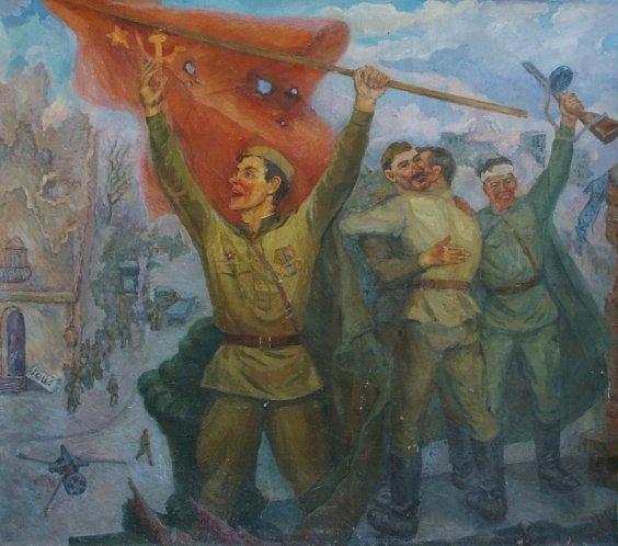 """Victory"" 1970 е - Yanchak Elena Vatslavovna"