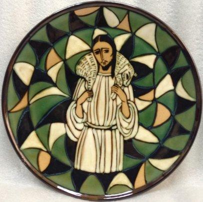 ЛКСФ Декоративная тарелка «Иисус» 1980 е - ЛКСФ Декоративная тарелка «Иисус»
