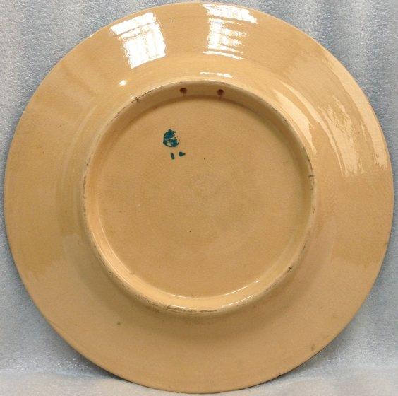 ЛКСФ Декоративная тарелка «Круговой узор»-ЛКСФ Декоративная тарелка «Круговой узор»