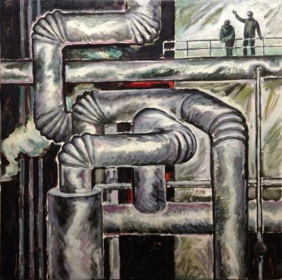 """Factory"" 1973 - Storm Mikhail Afanasievich"