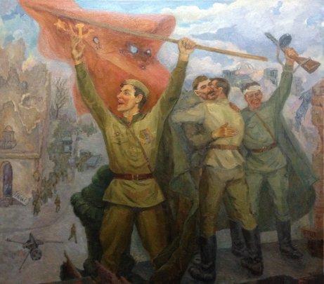 «Победа 1945» 1970 е - Янчак Елена Вацлавовна