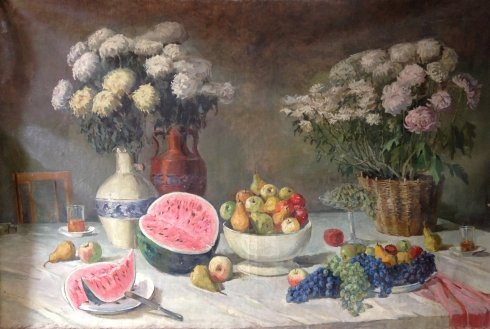 """Flowers and Fruits"" 1950 е - Koshevoy Stepan Lvovich"