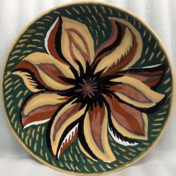 Декоративная тарелка «Цветик-семицветик» ЛКСФ 1970 е - Декоративная тарелка «Цветик-семицветик» ЛКСФ