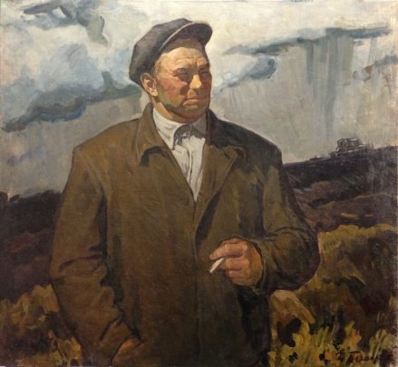 """Hero of Socialist Labor mechanic Putentsov"" 1979 - Bespalov Ivan Nikolaevich"