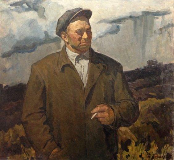 """Hero of Socialist Labor mechanic Putentsov""-Bespalov Ivan Nikolaevich"