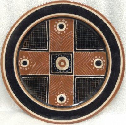 ЛКСФ Декоративная тарелка «Орнамент» 1970 е - ЛКСФ Декоративная тарелка «Орнамент»