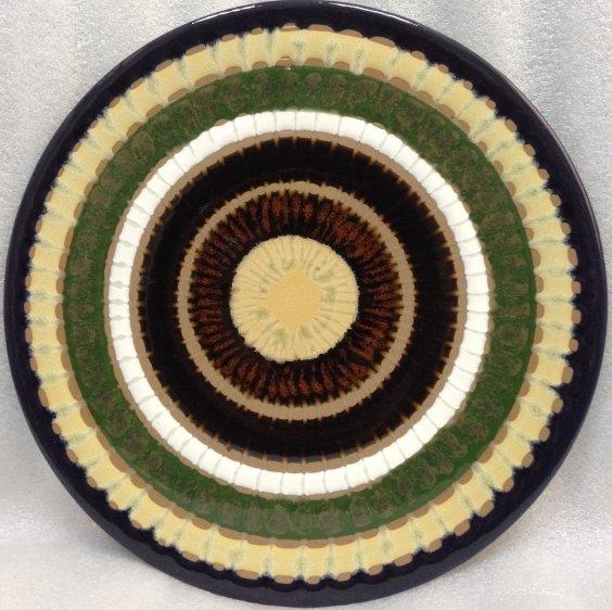 ЛКСФ Декоративная тарелка «Узор» 1970 е - ЛКСФ Декоративная тарелка «Узор»