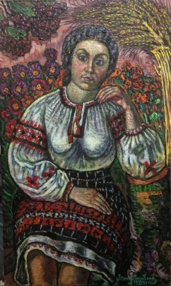 "Portrait of ""My Anna"" 1983 - Lytvyn Leonid Grigorievich"