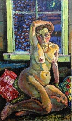 """""""Nocturne in Kozhuhivtse, My Anna."""" 1983 - Lytvyn Leonid Grigorievich"""