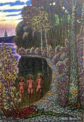 «Труханов остров. Матвеев залив» 1995 - Литвин Леонид Григорьевич