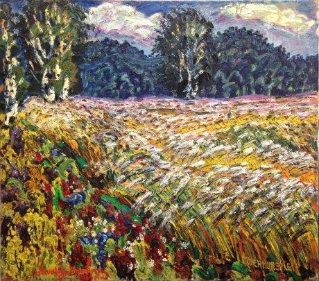"""Wheat ripens"" 1984 - Lytvyn Leonid Grigorievich"