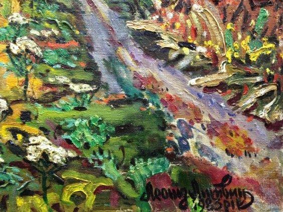 «Памятник Корчагинской узкоколейке. Около станции» (2 серия Боярка)-Литвин Леонид Григорьевич