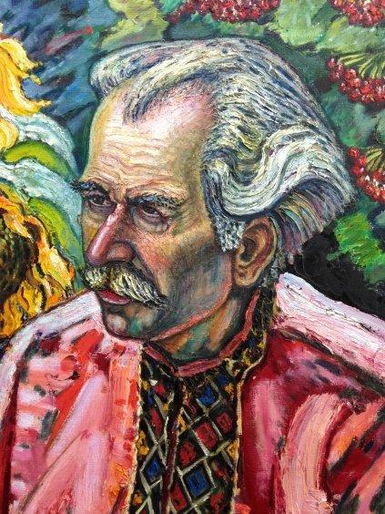 """Portrait of """"Grigory Pavlovich Pinchuk""""-Lytvyn Leonid Grigorievich"""