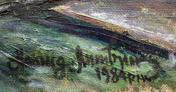 «Моя жена Анна Степановна Литвинова-поэт и художник»-Литвин Леонид Григорьевич