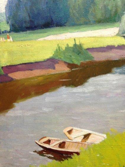 "Landscape ""By the Lake""-Sobko Petr Stepanovich"