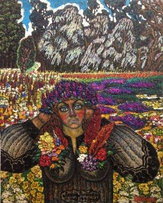 Портрет «Яр-Богиня Анна» 1995 - Литвин Леонид Григорьевич