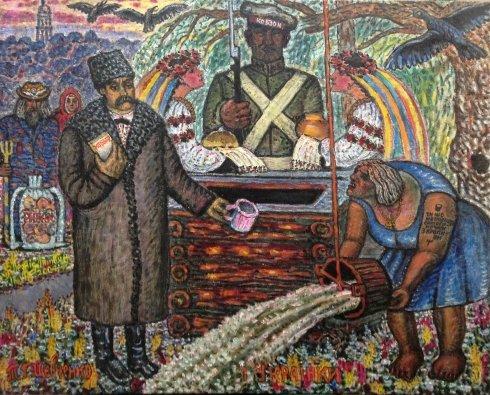 «Т.Г.Шевченко и украинки» 2004 - Литвин Леонид Григорьевич