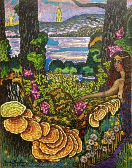 «Волшебное утро.Труханов остров» 1995 - Литвин Леонид Григорьевич