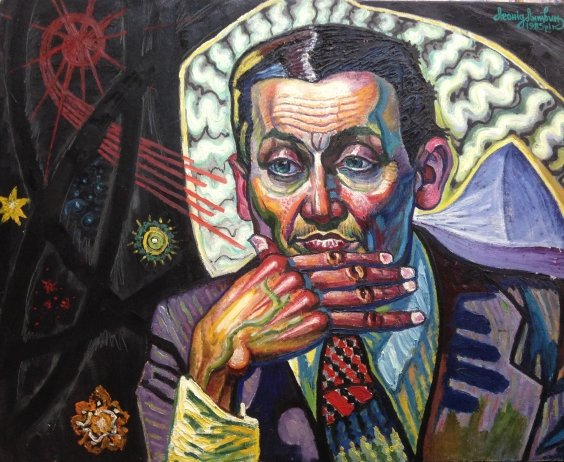 «Портрет нейрохирурга Нещадименко Виталия Ивановича» 1985 - Литвин Леонид Григорьевич