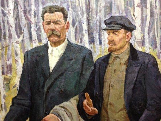 """Conversation: VI Lenin and Maxim Gorky""-Yudenko Ivan Savelyevich"