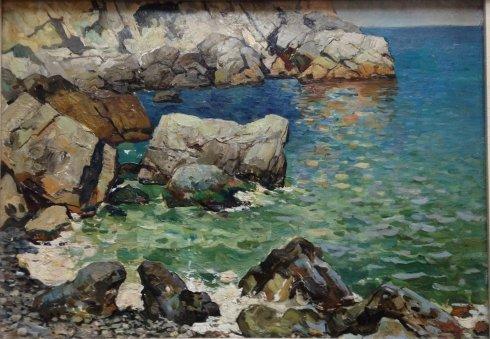 «Морской пейзаж» 1963 - Гальков Юрий Константинович