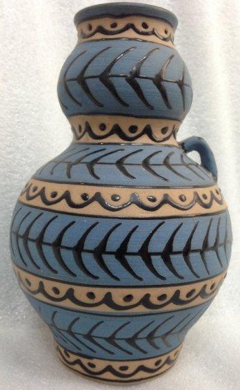 ЛКСФ Декоративная ваза «Триполье» 1960 е - ЛКСФ Декоративная ваза «Триполье»
